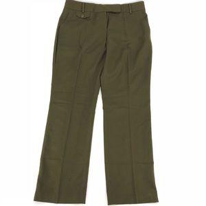 🛍 Talbots Army Green Wool Dress Pants